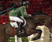 Cavalos em Pista com o ginete Rodrigo Pessoa