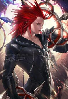 Axel - by sakimi-chan