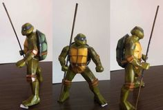 Teenage Mutant Ninja Turtles - Donatello Free Papercraft Download