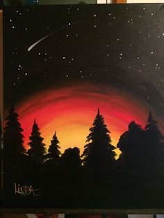 wonderful from each other canvas painting summer, body painting, painting bedroom, chalk kitchen, paint colors ideas. Simple Canvas Paintings, Easy Canvas Art, Small Canvas Art, Easy Canvas Painting, Mini Canvas Art, Galaxy Painting, Sunset Painting Easy, Sunset Paintings, Easy Paintings