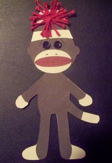 a paper pieced Sock Monkey designed by Sherri Simmons- Sock Monkey Decor, Sock Monkey Party, Monkey 3, Applique Patterns, Applique Quilts, Sock Monkey Pattern, Sock Dolls, Classroom Themes, Fun Projects