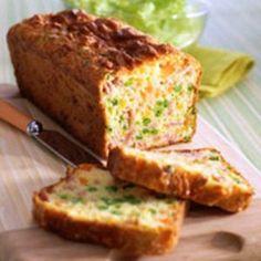 cake au jambon et petits légumes