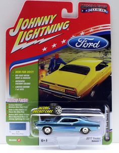 1:64  JOHNNY LIGHTNING MUSCLE CARS USA 2017 SERIES 1B - 1970 FORD TORINO GT - ME #JohnnyLightning #Ford