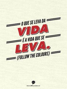 Um bom dia com Recite This: o site traz diferentes templates que transformam a sua frase favorita em posters: http://shar.es/6Mv5o