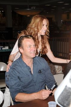 Doug Davidson and Tracey Bregman at The Young And The Restless Life Of William J. Bell book signing. #YR