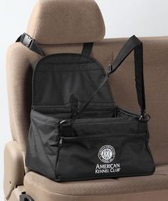 Take a look at this American Kennel Club Black Pet Car Booster Seat by American Kennel Club on #zulily today!