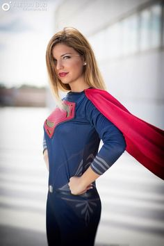 Ivana Picerno (Italy) as Supergirl. Photos... - Geek Cosplay Girls Archive