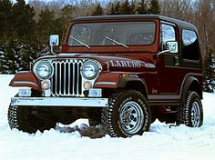 Past. 1986 Jeep CJ-7 Laredo. I would love to get another one. It was so much fun, even in MN where the top was on most of the time.