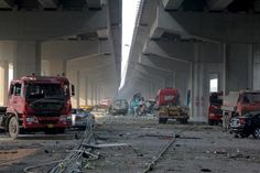 Deadly warehouse blast in Tianjin, China
