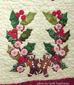 Christmas Baltimore quilt by Miriam L Meier | Quilting Wonders ... : baltimore christmas quilt pattern - Adamdwight.com