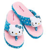 Hello Kitty® Plush Slipper  Hello Kitty® plush accent on fleece upper.  Cushioned a6fb9cfa02846