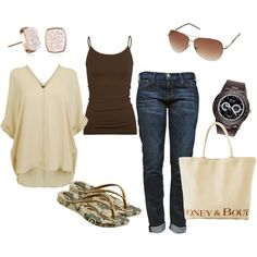 Casual time, like? Personalize your own casual time outfit.