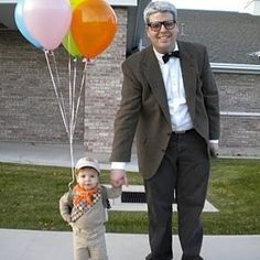 Tug some heartstrings as the Up characters. | 21 Unusual Halloween Costumes You Can Make Yourself