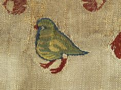 Detail from a linen and wool hanging fragment.  Egypt, c. 200 - 642 AD  Royal Ontario Museum, Toronto