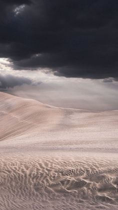 Desert Sand Storm Clouds Android Wallpaper
