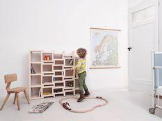 Rek expanding bookcase Reinier de Jong