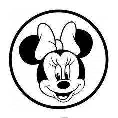 Minnie Mouse Maus Malen Maus Basteln Minnie Maus
