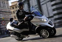 Piaggio MP3, world's first hybrid scooter.