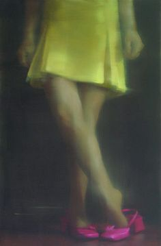 "Tiina Heiska: ""Butterfly Caught"", oil on canvas, cm Artist Painting, Figure Painting, Women With Beautiful Legs, Blur Photography, Imagine John Lennon, Shoe Art, Color Stories, Female Images, Art Therapy"