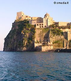 Castello Aragonese on the island of Ischia, Italy.  One of the most memorable places I ever stayed...