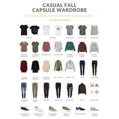 Turn this Capsule Wardrobe into 60+ outfits with my New Style Guide! #capsulewardrobe Capsule Wardrobe Casual, Capsule Outfits, Everyday Casual Outfits, Casual Fall Outfits, Winter Outfits, Toms Style, Athleisure Outfits, Over 50 Womens Fashion, Dress Me Up