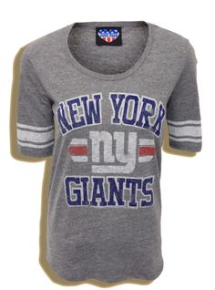 Classic NY Giants football tee in the sale!  www.junkfoodclothing.com