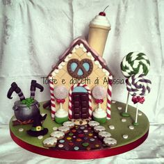 Hansel & Gretel cake