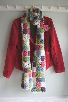 Such a cute scarf!!!  @cocorosetextiles