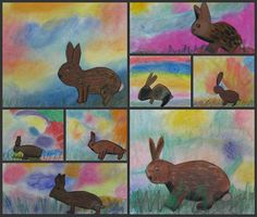 Super Easter Art Projects For Kids Animals 27 Ideas Spring Art Projects, Easy Art Projects, School Art Projects, Farm Projects, Animal Projects, Spring Crafts, Easter Art, Easter Bunny, Easter Crafts