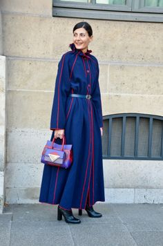 Street Style Inspiration: Floor Sweep / Paris Fashion Week