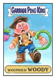 Woody garbage pail kid |Pinned from PinTo for iPad|