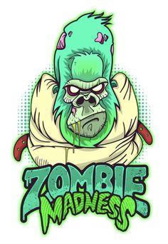 Gorila zombie