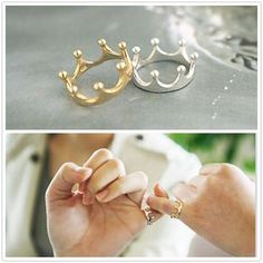 2016 Fashion Bijoux Rings Lovely Crown Finger Ring For Women Wedding Jewelry Accessories One Direction Wholesale Anillos  #jennifiers #beautiful #model #fashion #hair #cute #makeup #stylish #outfit #purse #style #outfitoftheday #jewelry #beauty #styles