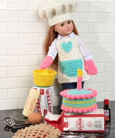 Dress Your 18-inch Doll | Red Heart