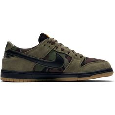 bad3f324c0750 Nike SB Zoom Ishod Dunk Pro Shoes in Medium Olive  Black Gum Light Brown  Online Canada