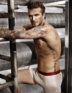 Our favourite shot from David Beckham's latest H&M underwear shoot.