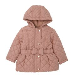 Mothercare Pink Quilted Coat