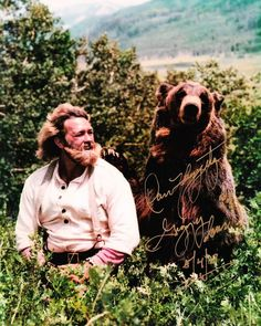 Dan Haggerty 8 x 10 Autograph Reprint The Life and Times of Grizzly Adams