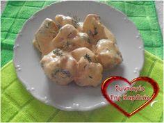 ΣΥΝΤΑΓΕΣ ΤΗΣ ΚΑΡΔΙΑΣ: Κοτόπουλο σε σάλτσα τυριών Potato Salad, Pudding, Chicken, Meat, Cooking, Ethnic Recipes, Desserts, Food, Greek
