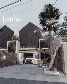 7 x 15  __________________________________________  K A R Y A S T U D I O 9 9  work with the heart hopefully inspire you… Modern Tropical House, Tropical House Design, Tropical Houses, Modern House Design, Architecture Board, Residential Architecture, Architecture Design, Gable House, Tropical Architecture
