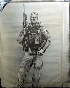 Man uses old time photography technique in Afghanistan war. The first tintype combat-zone photography since the Civil War - Imgur