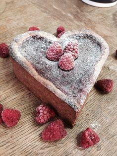 Valentine frambozen taartjes