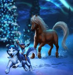 Dane, Thora, Frosty, Tinsel, and Chocolate Most Beautiful Horses, Beautiful Fantasy Art, Horse Wallpaper, Cute Wallpaper Backgrounds, Fantasy Creatures, Mythical Creatures, Anime Animals, Cute Animals, Horse Cards