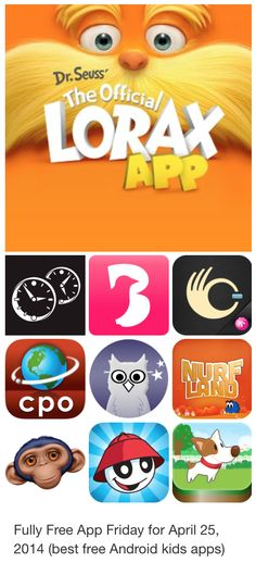 Fully Free App Friday for April 25, 2014 (best free Android kids apps)