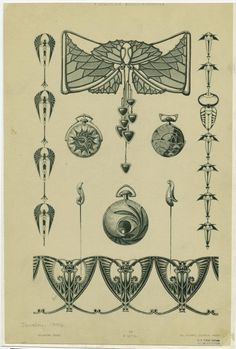 [Jewelry, Paris, France, 1901s.] - ID: 831829 - NYPL Digital Gallery
