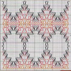 Arquivo dos álbuns Cross Stitch Charts, Cross Stitch Designs, Cross Stitch Patterns, Weaving Designs, Weaving Projects, Swedish Embroidery, Hand Embroidery, Swedish Weaving Patterns, Chicken Scratch Embroidery