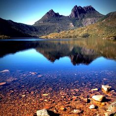 St Clair National Park Tasmania - Cradle Mountain & Dove lake Australia  by stubbsy01 (instagram) www.facebook.com/loveswish