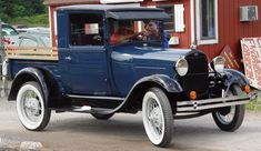 NICE.....1929 Ford model a closed cab pickup