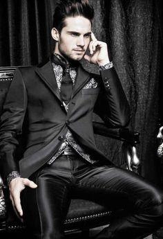 Goth Man Suit