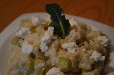 Risotto piccante con broccoli e ricotta